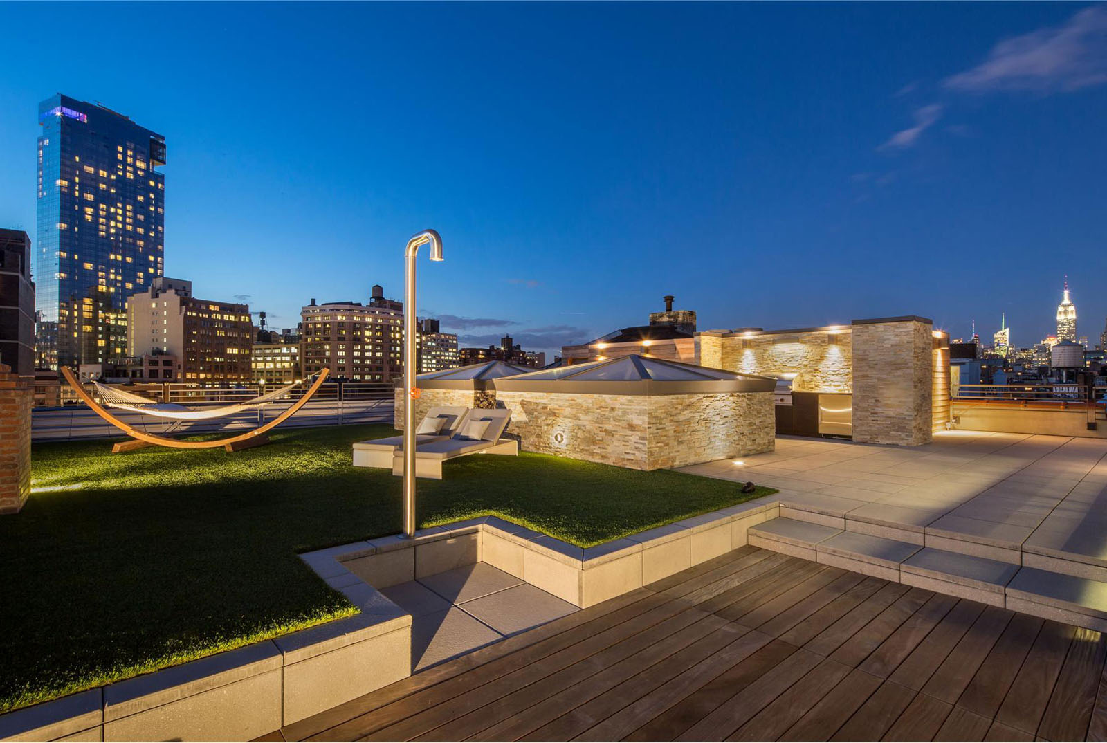 New York City Rooftop Terrace