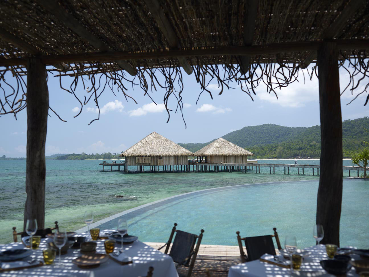 Private tropical Island