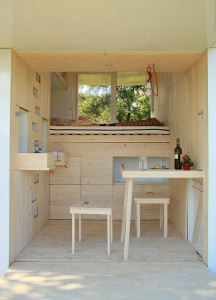 Tiny Minimalist Cabin Retreat
