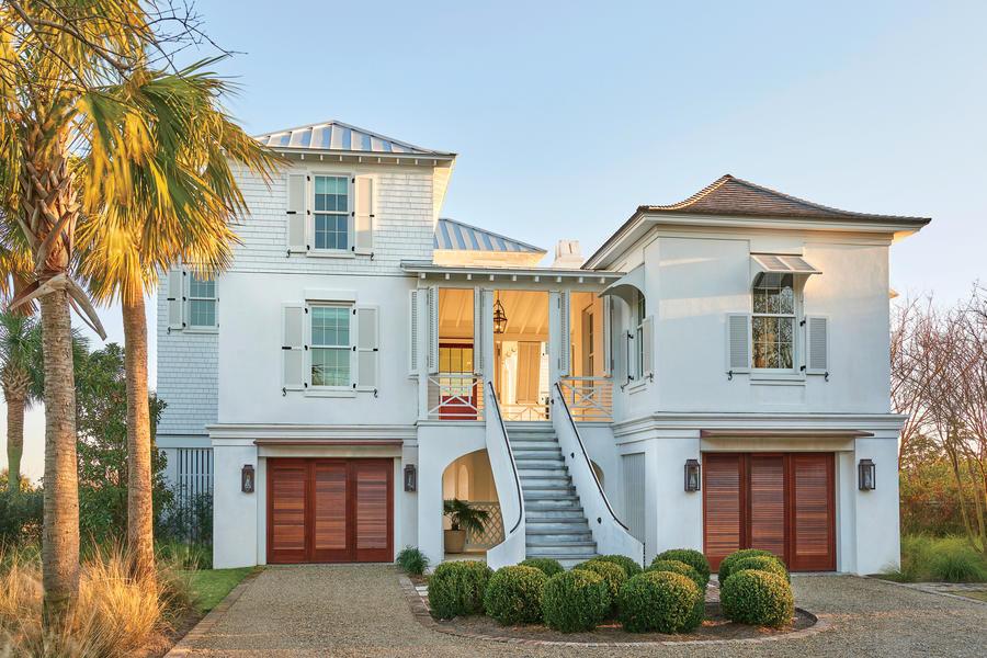 Caribbean Inspired Breezy South Carolina Beach House