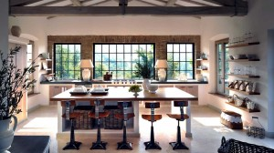 Contemporary Italian Country Kitchen