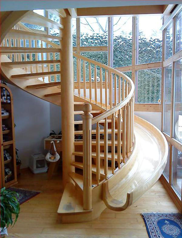 Spiral Staircase Slide Idesignarch Interior Design Architecture