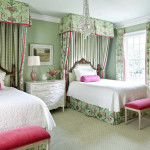 Girl's Room With Splashes of Pink
