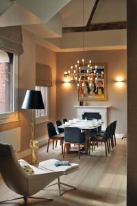 Contemporary Elegant Apartment Interior