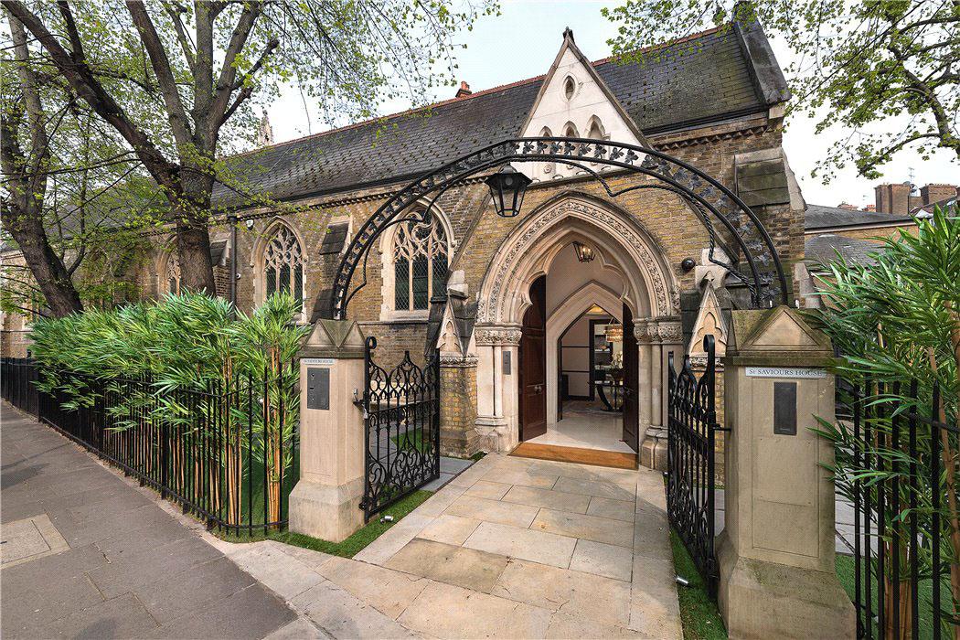 Grade II Listed 19th-century Anglican church Walton Street Knightsbridge