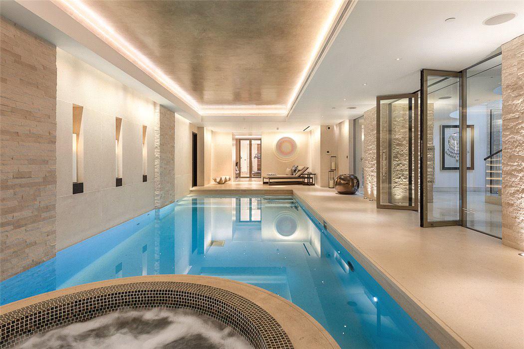 Luxury Home Indoor Underground Swimming Pool