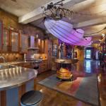 Retro-Futuristic Steampunk Loft Apartment In New York