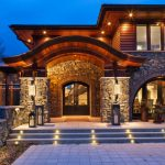 Country Lodge Style Luxury Home in Minnesota