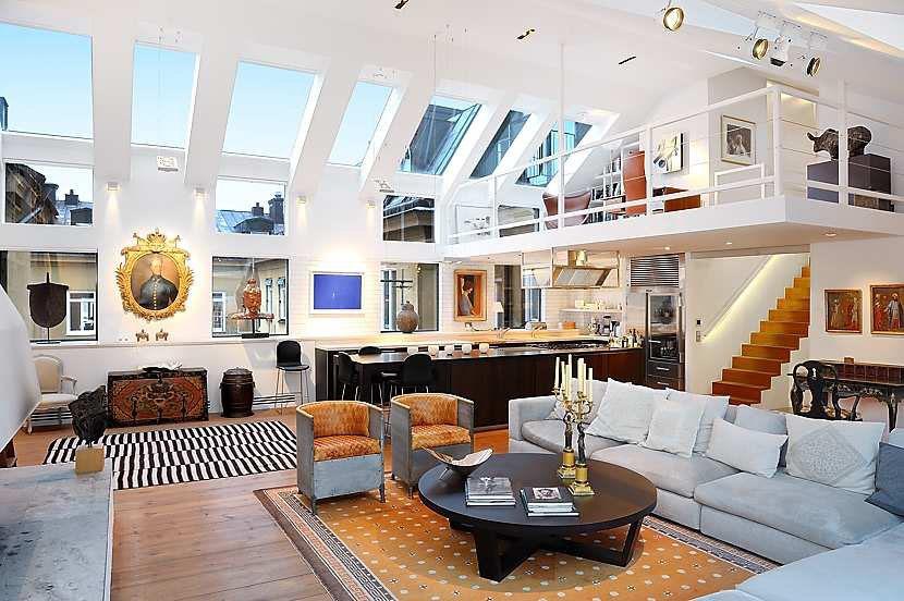 Stockholm-Loft-Apartment