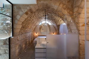 Stone Arch Bedroom