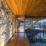 Modern Residence in Brazil Features Stones, Wood, Glass and Metal
