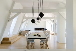 Modern Renovated Attic Loft Apartment