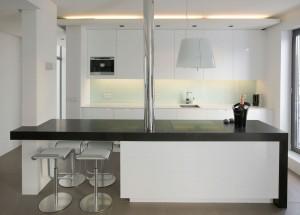 Modern Studio Apartment Kitchen
