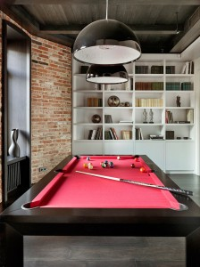 Pool Table in Apartment