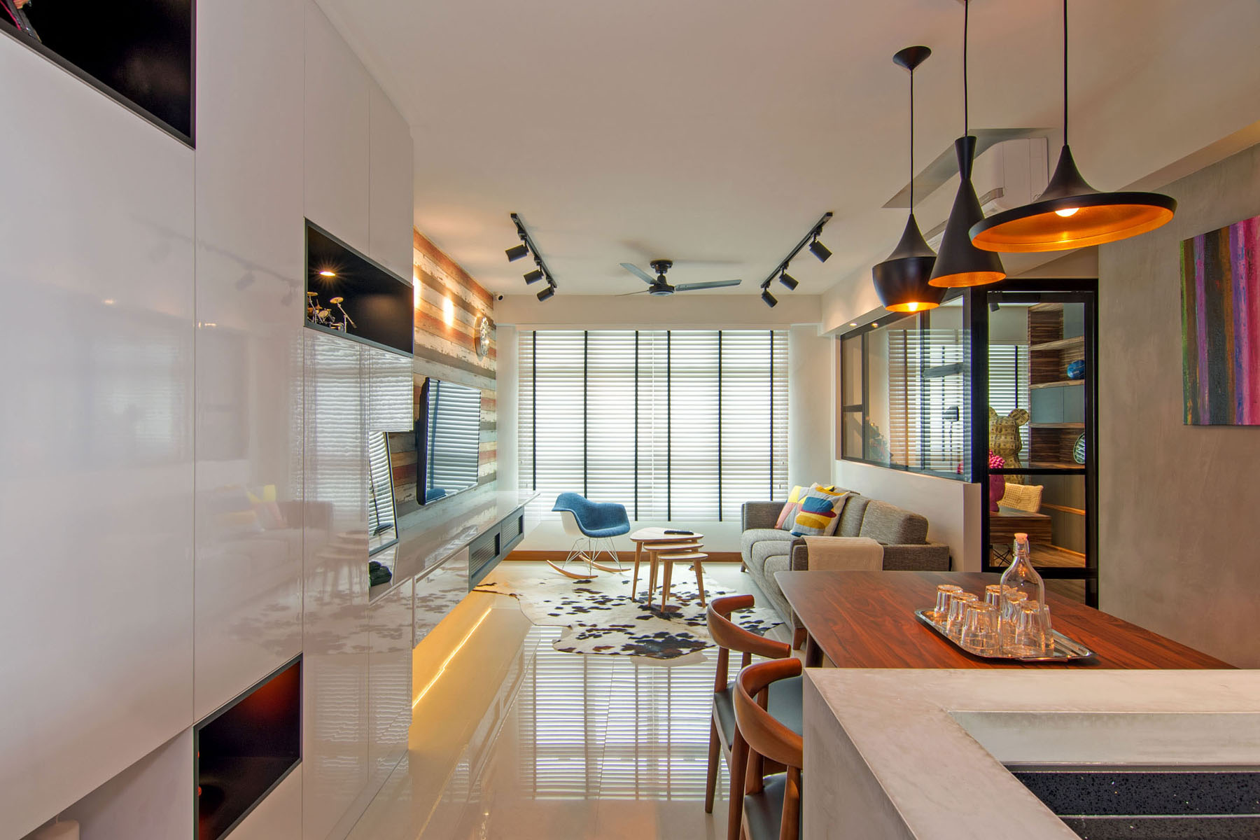 Modern two Bedroom Apartment in Singapore