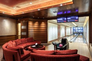 Luxury Home Bowling Alley