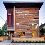 Cutting-Edge Eco House Built With 90% Reclaimed Wood Materials
