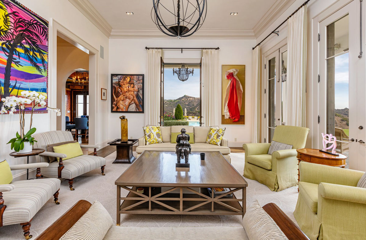 Inside Sylvester Stallone's Home in Los Angeles