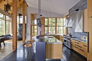Rustic Mountain Home Interior