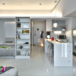 Small Taipei Studio Apartment With Clever Efficient Design