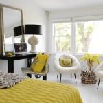 Contemporary Interior Design With Flexible White Background