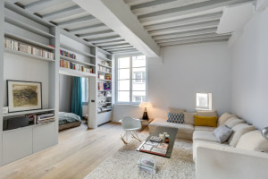 Elegant Small Apartment in Paris