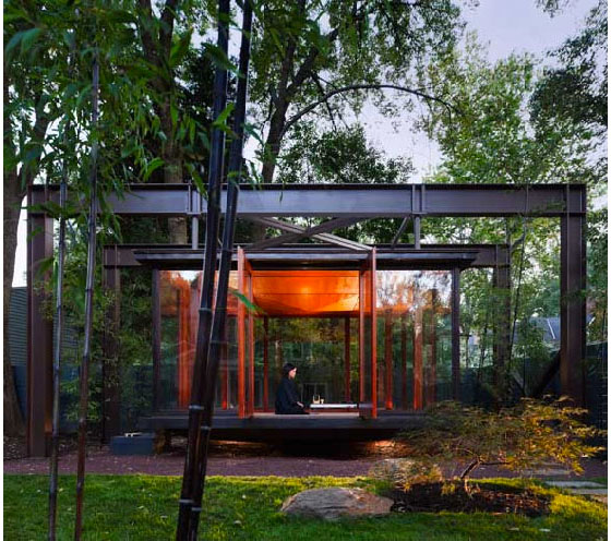 Tea House And Meditation Space In Backyard Idesignarch
