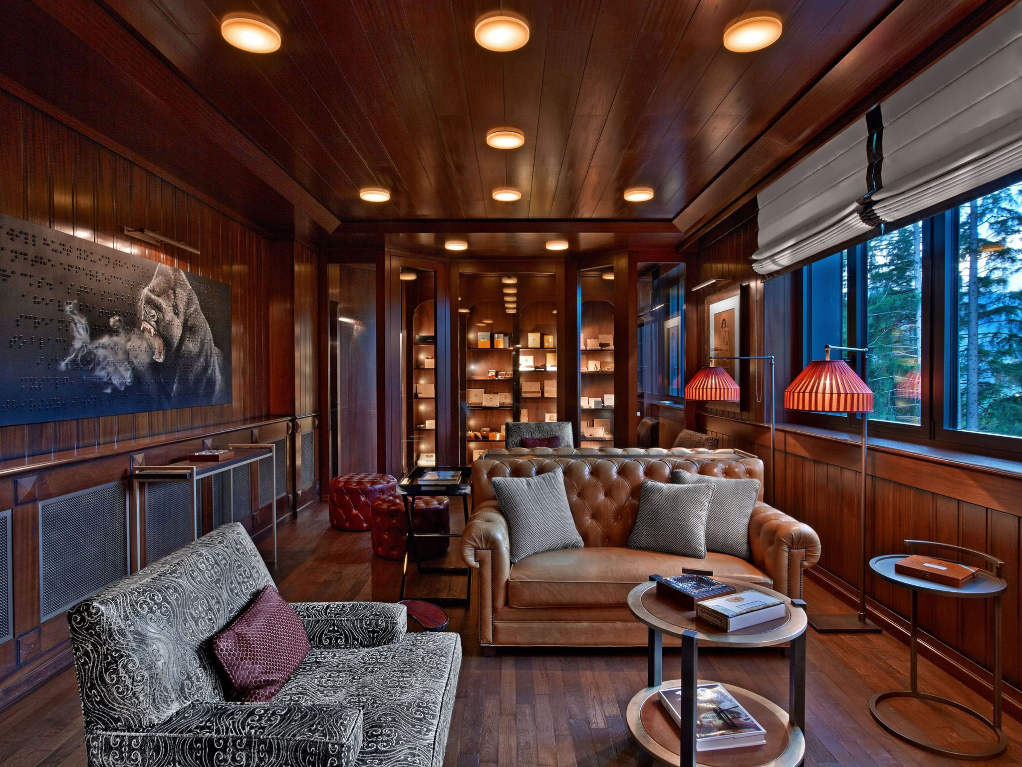 Elegant Cigar Room