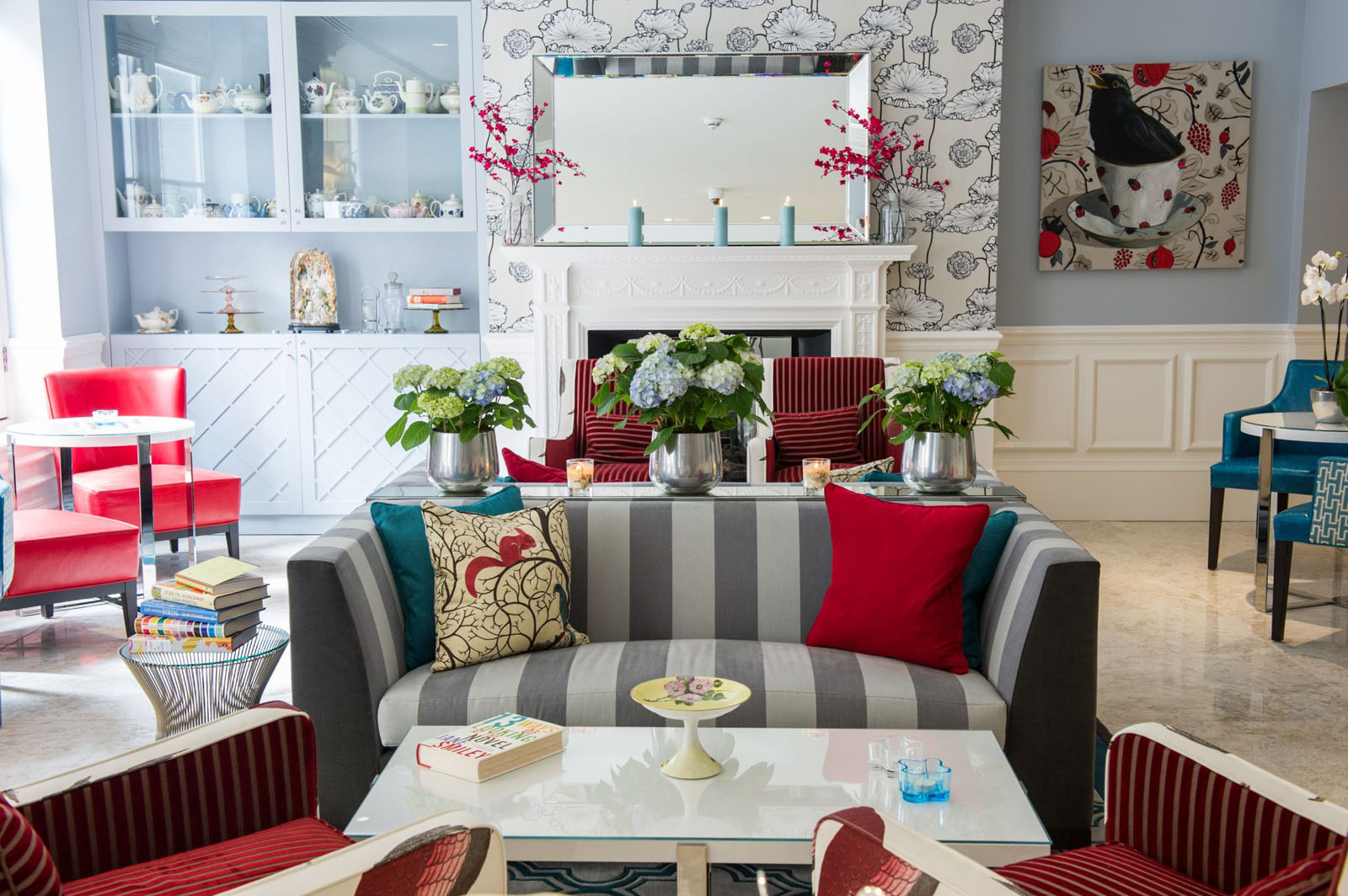 The ampersand hotel london victorian architecture with modern whimsical decor
