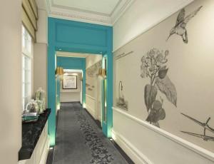 Ampersand Hotel London Corridor