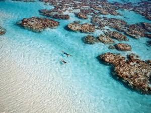 South Sea Island Paradise Lagoon
