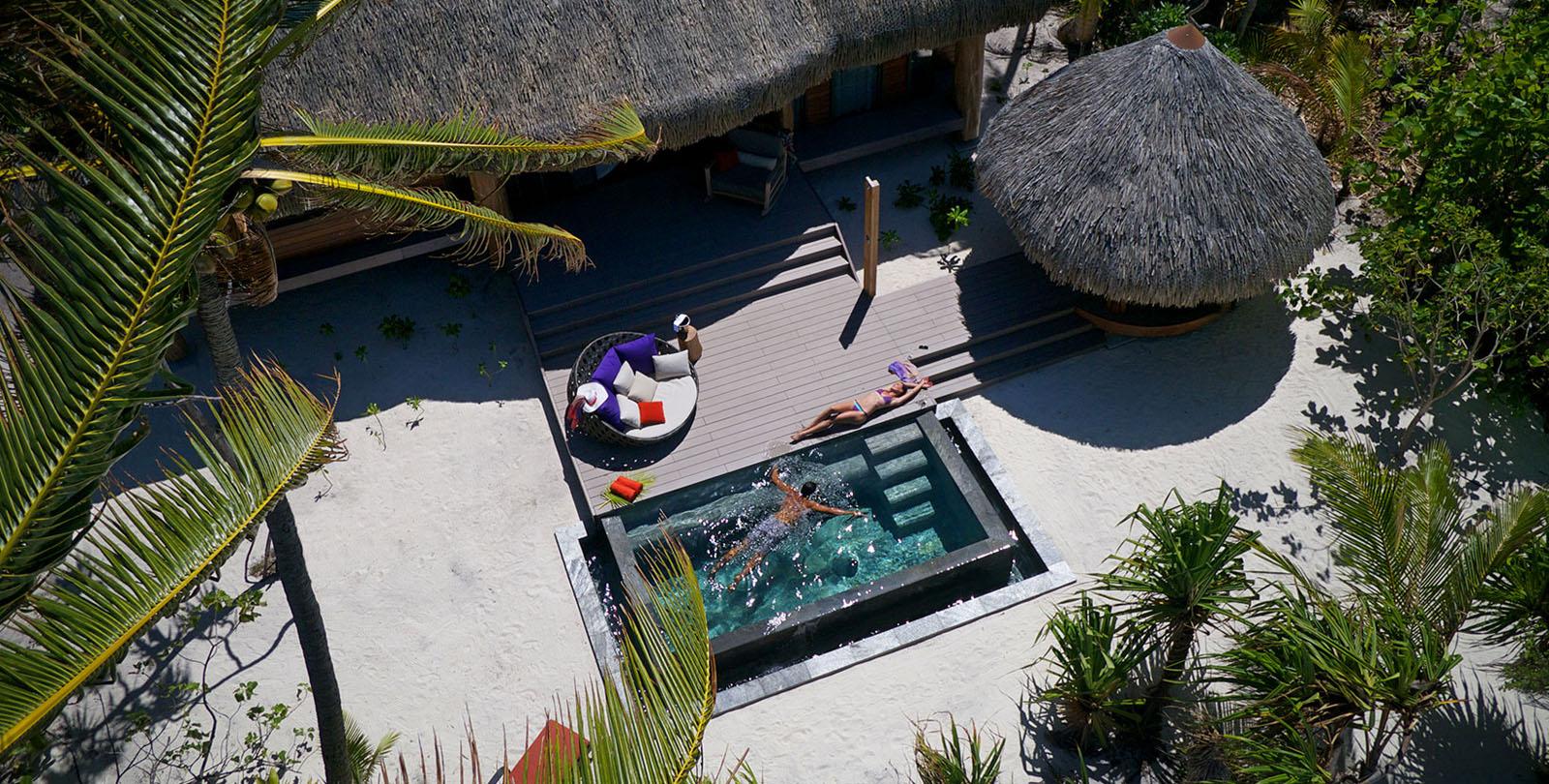 Eco-friendly Tropical Island Resort