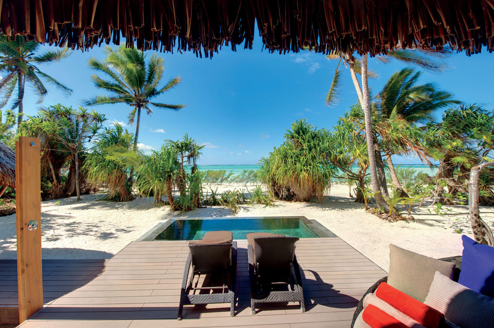 Private Paradise Beach Villa with Plunge Pool