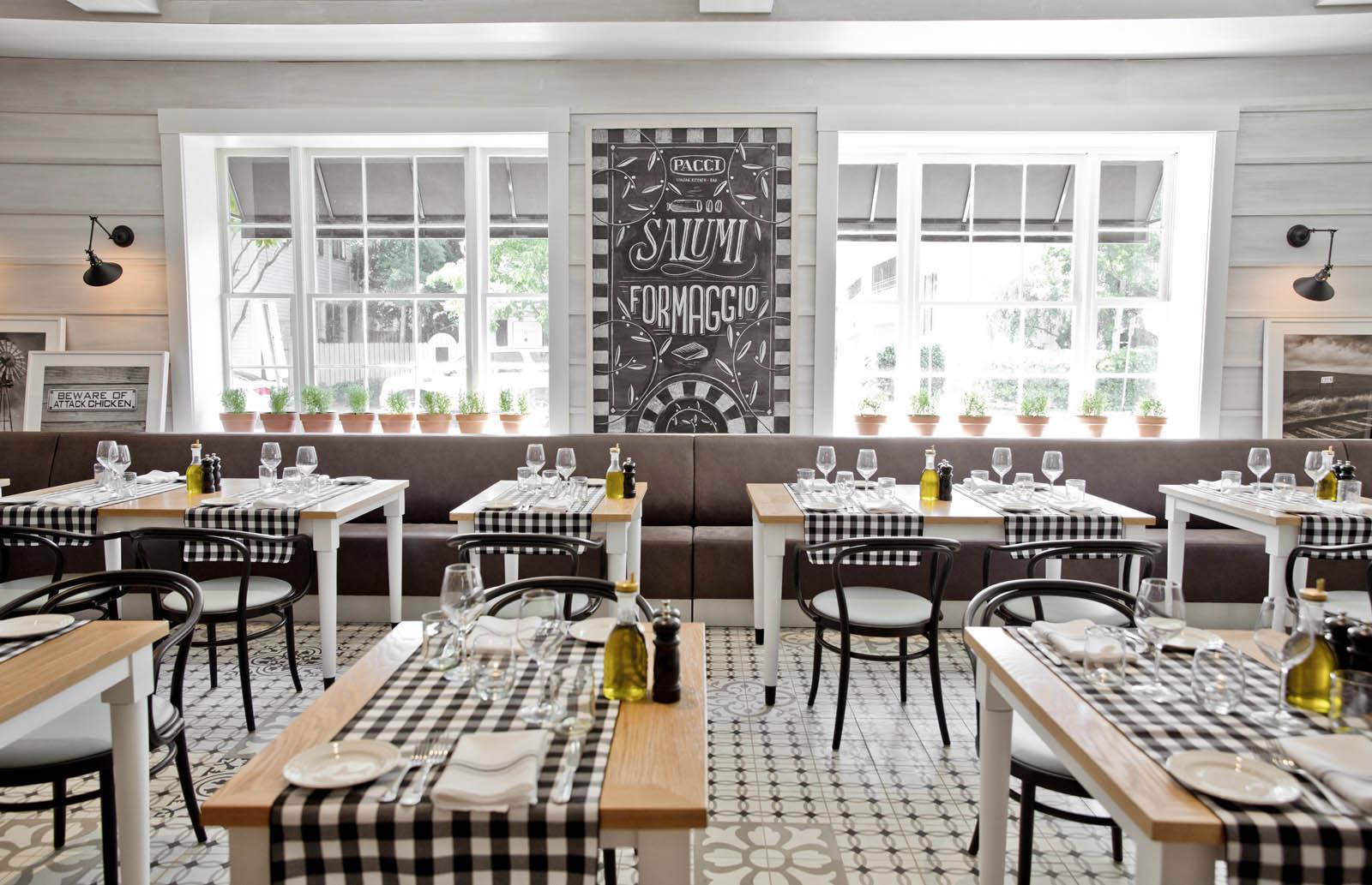 Chic and Cozy Restaurant Interior Design