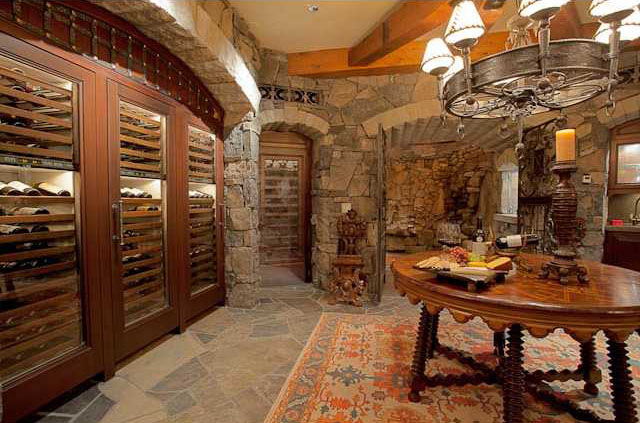 gated-wine-room