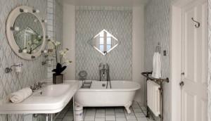 Charming Bathroom with Claw Footed Tub
