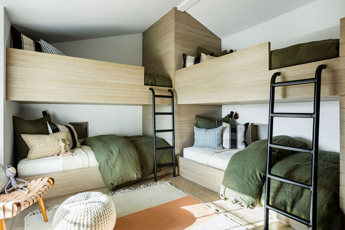 Modern Country House Bunk Beds