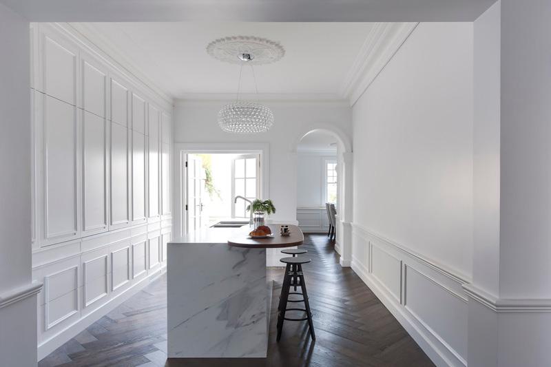 Painting Kitchen Countertops White