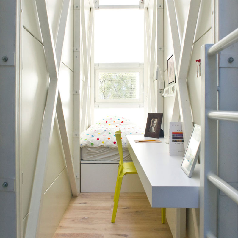 Narrow Small House Interior