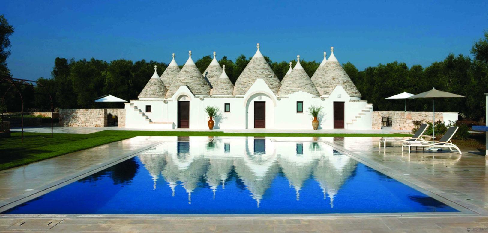 Trulli Architecture Puglia