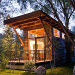 Luxury Turnkey Tiny Cabin Combines Rustic And Modern Aesthetic