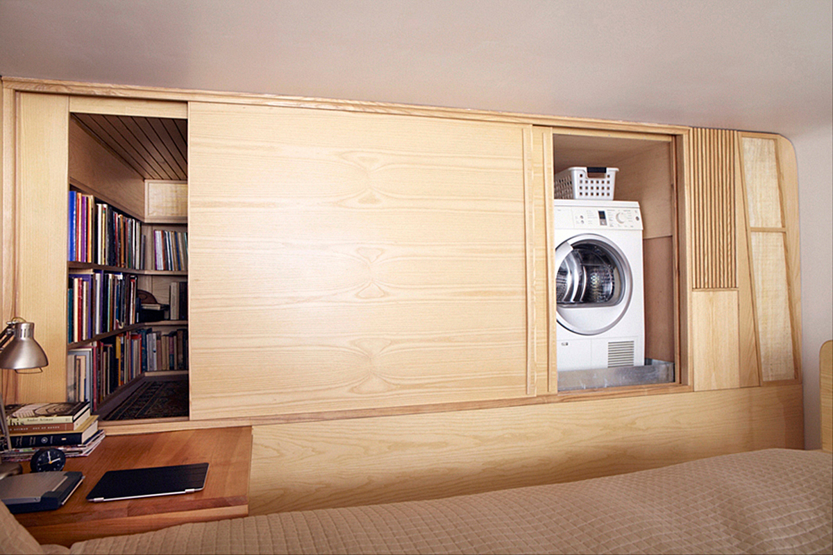 Small New York City Apartment with Washing Machine