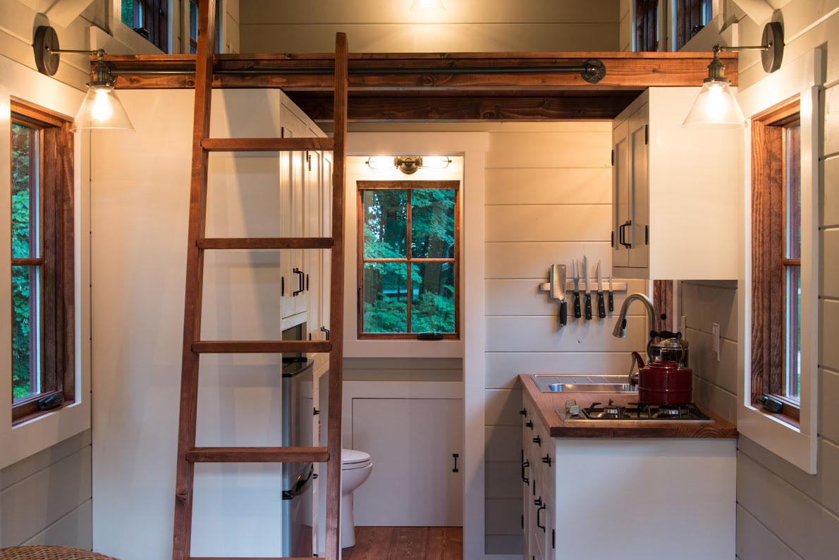 Timbercraft Tiny House Living Large In 150 Square Feet Idesignarch Interior Design