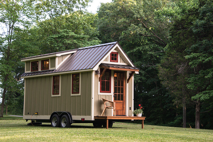 Tiny House Cottage on Wheels