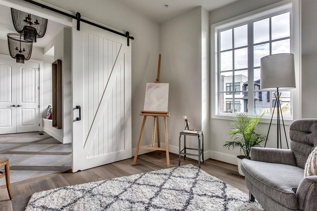 Modern Interior Sliding Barn Door