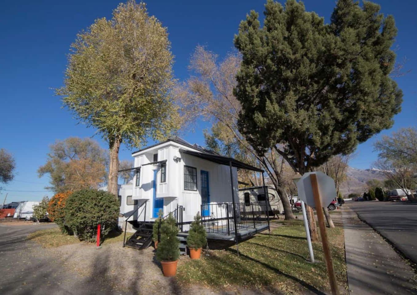 Cozy Vacation Rental Tiny House Draper Utah