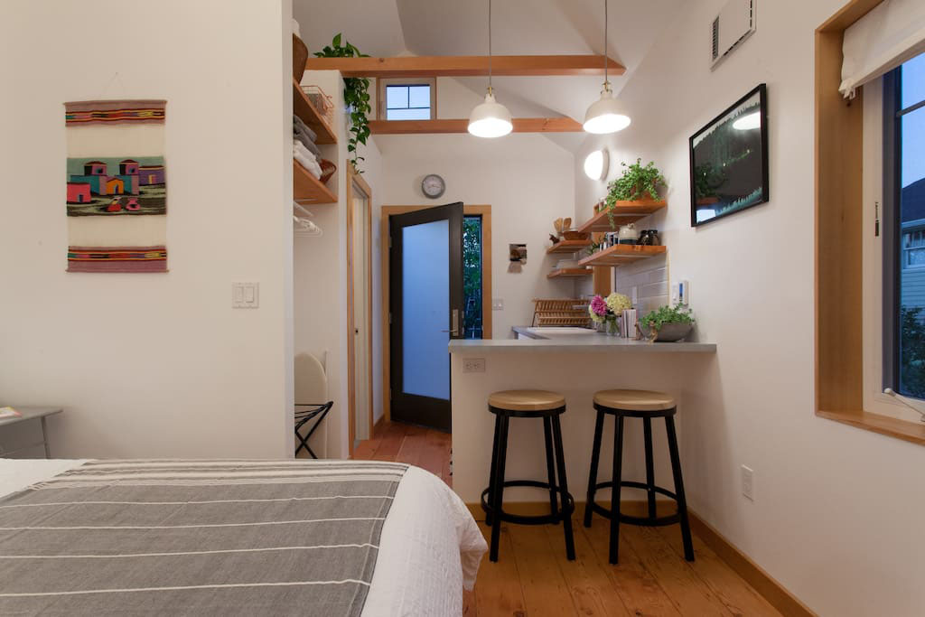Tiny Guest House Portland 2 - Get Small House Space Interior Design  Pictures