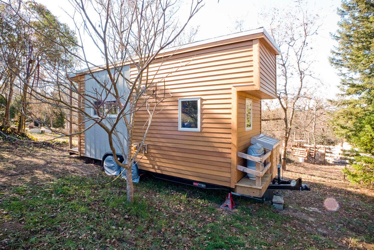 Alek Lisefski Tiny House solar tiny house project on wheels | idesignarch | interior