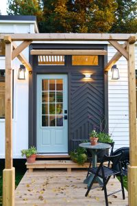 Tiny House Front Porch