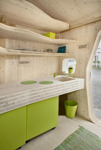 Environmentally-Friendly Tiny House